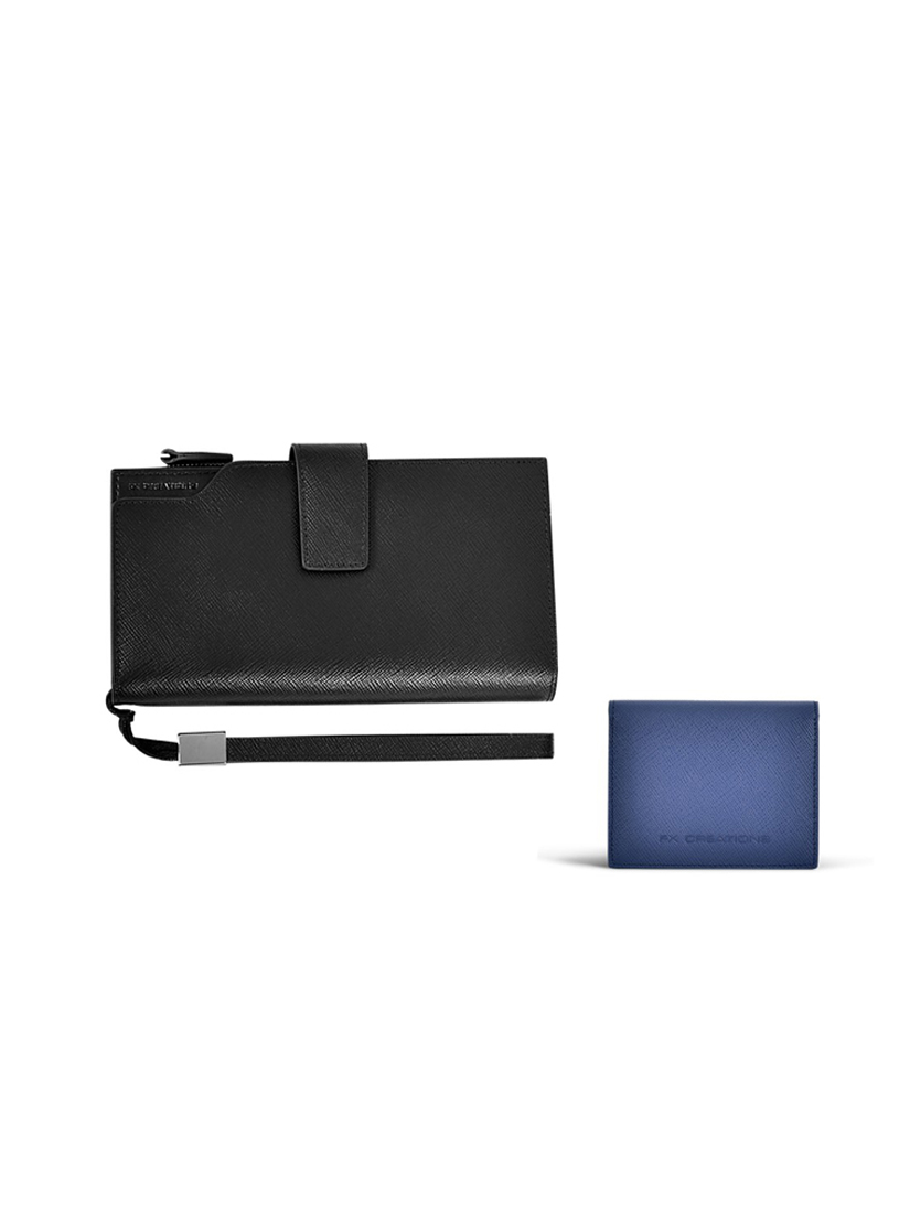 Saffi Leather Accessories Giftset LSW21408-01_LSW21419-79