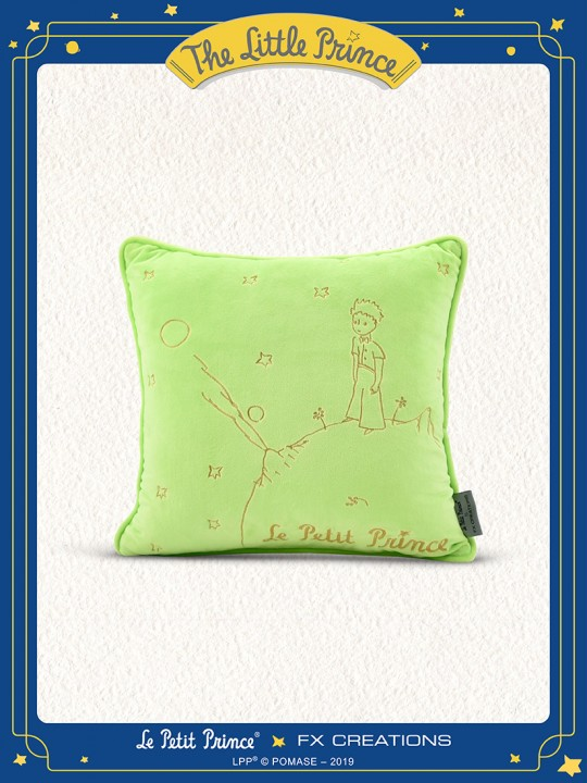 The Little Prince Cushion (Classic Green)