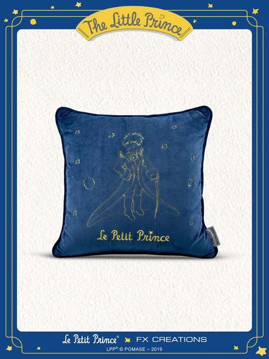 The Little Prince Cushion (Night Blue)