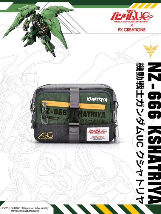 ####NZ-666 KSHATRIYA Tow-way Waist Bag