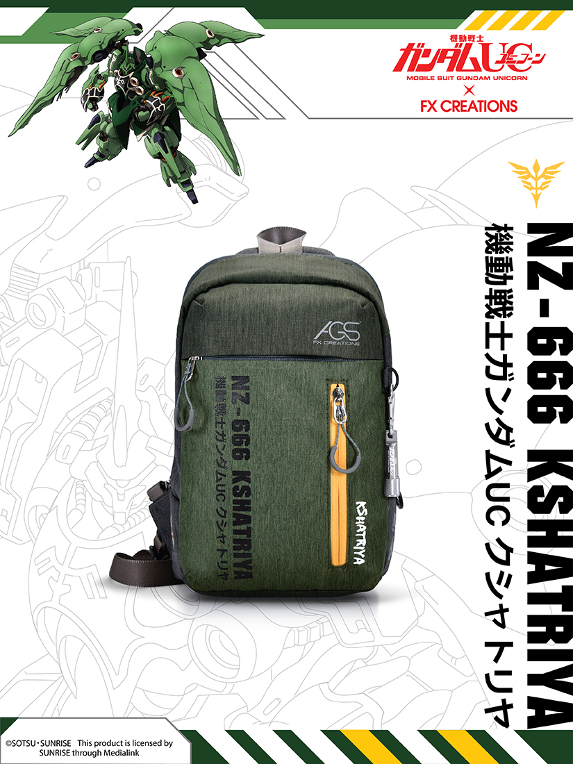 #####NZ-666 KSHATRIYA Backpack (Preorder)