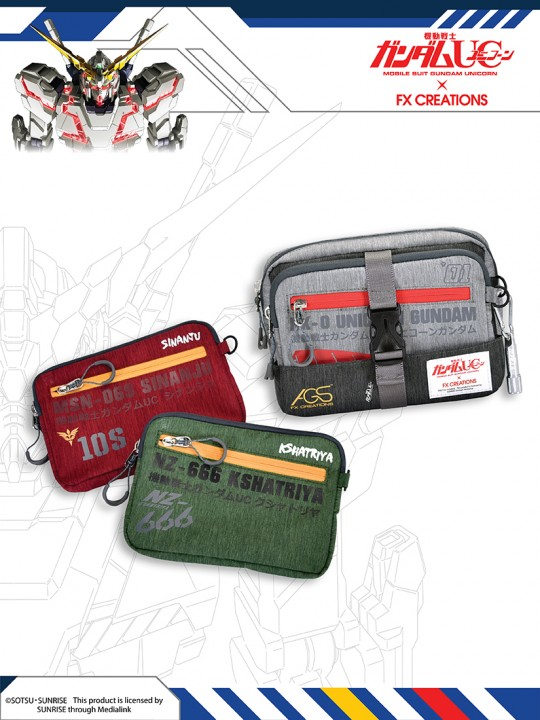 #####Special Set - GUMDAM UC Tow-way Waist Bag