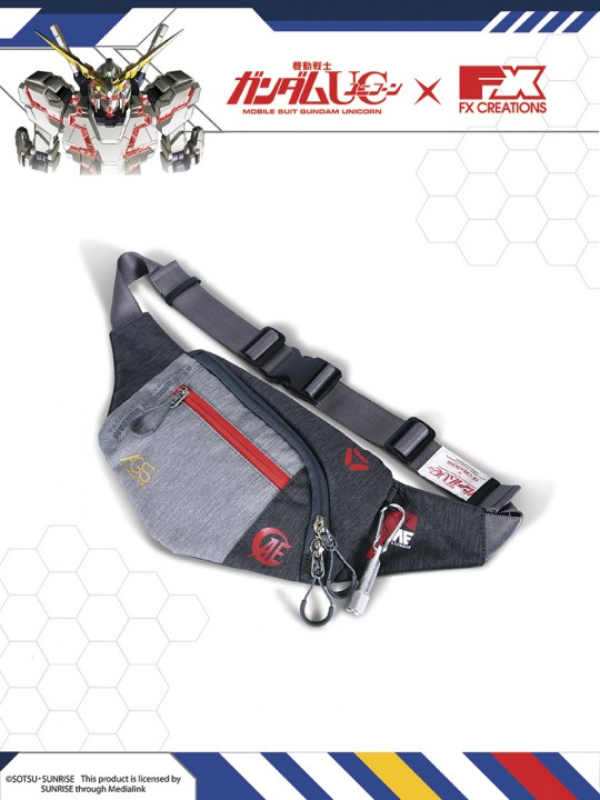 #####RX-0 UNICORN GUNDAM Waist Bag