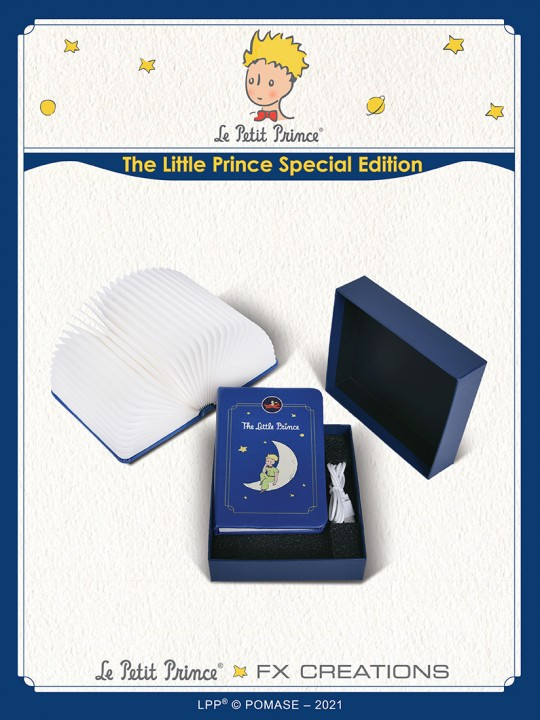 #####The Little Prince Special Edition Modeling Book Light