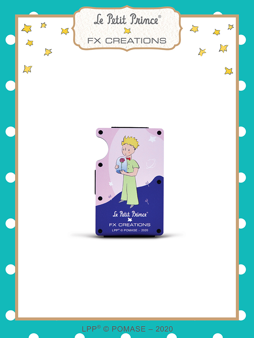 #######The Little Prince Special Edition Money Clip(Planet)
