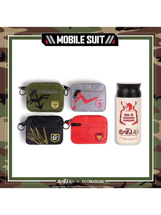 ########GUNDAM UC Crossover Series - Gear UP collection Functional Pouch boxset
