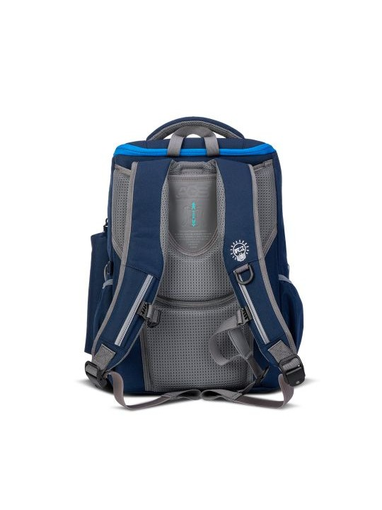 ###Anti Gravity System (AGS) School Bag Small Size - Red Mix Blue (Pre-order soon)