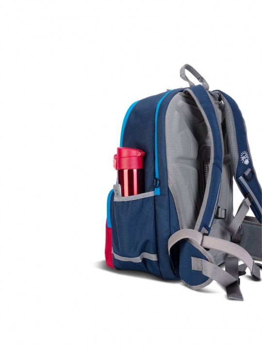 ##AGS PRO Suspension School Bag Medium Size- Red Mix Blue (Pre-order soon)